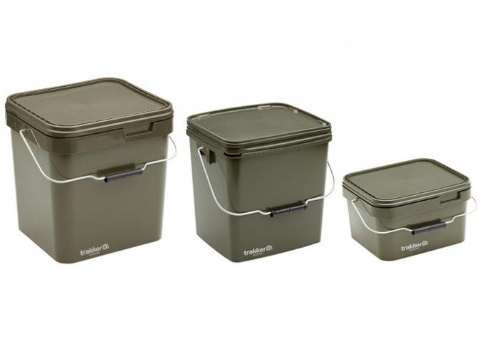 Trakker Kbelík Olive Square Container