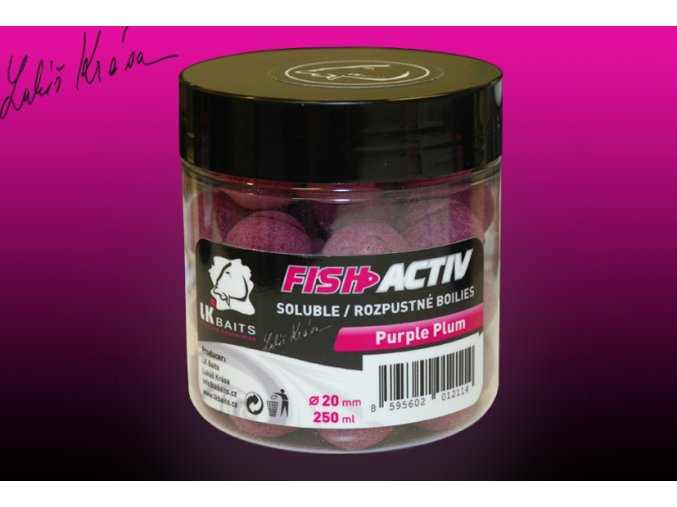 fish activ purple plum 250g