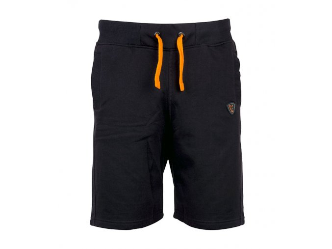 black orange shorts front