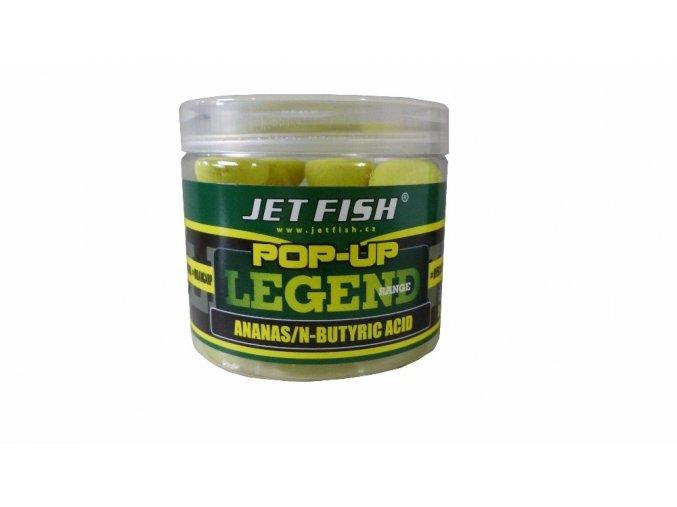 JET Fish plovoucí boilies POP-UP LEGEND RANGE 12 mm
