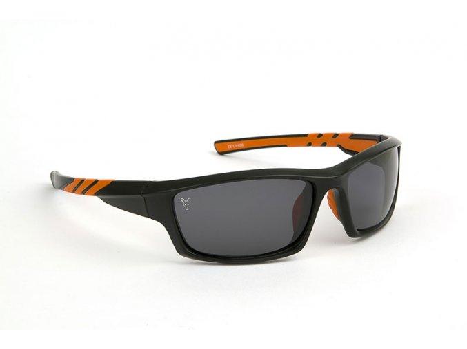 fox xt5 matt black frame grey lens