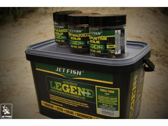 JET Fish boilies Legend Range Chilli/Tuna