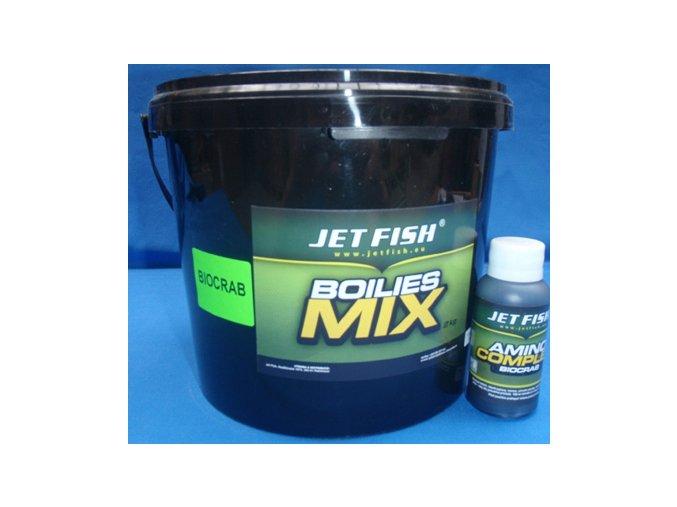 Jet Fish Boilie směs Biocrab