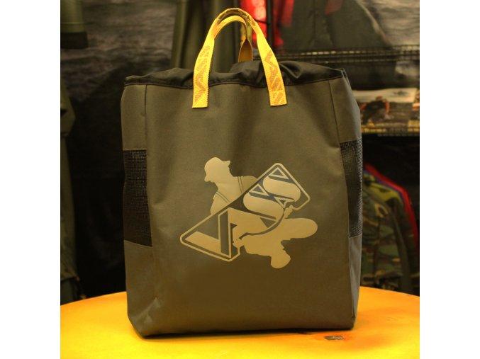 wader bag khaki edition
