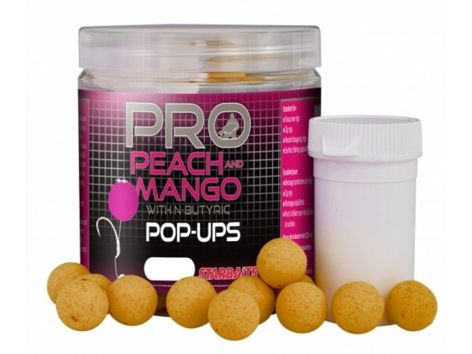 probiotic peach and mango pop up starbaits p image 46081 grande