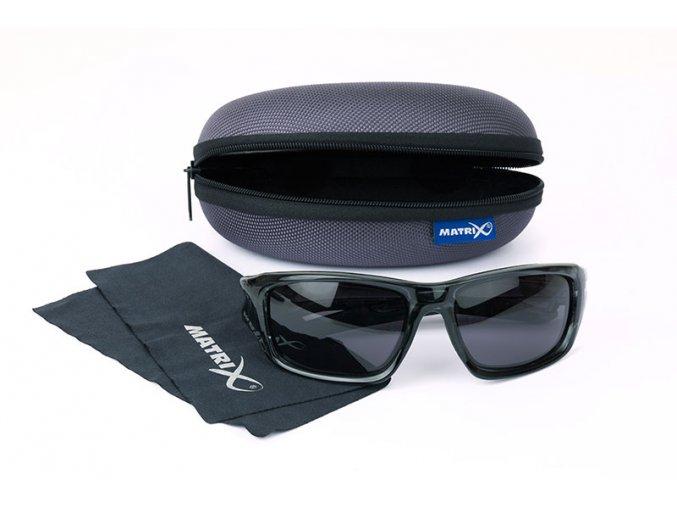 matrix trans black wraps grey lense