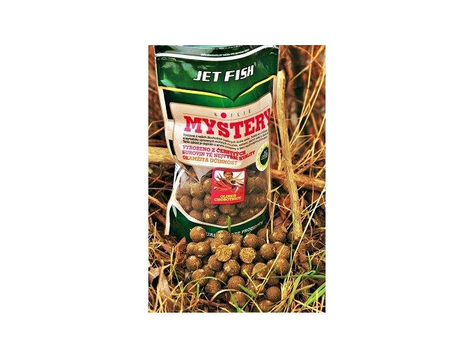 JET Fish Hotové Boilie Mystery 900g (16mm), 1kg (20mm)