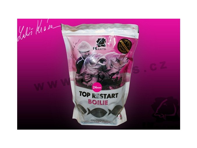 LK Baits boilie Top ReStart Black Protein