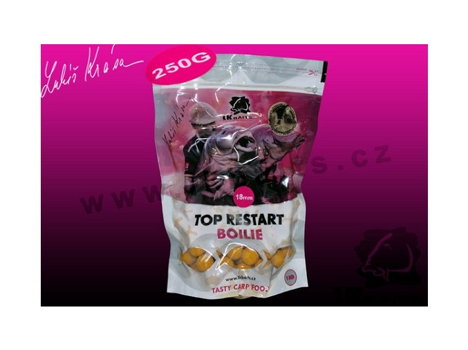 LK Baits Mini Boilie World Record Carp Corn 250g 12mm