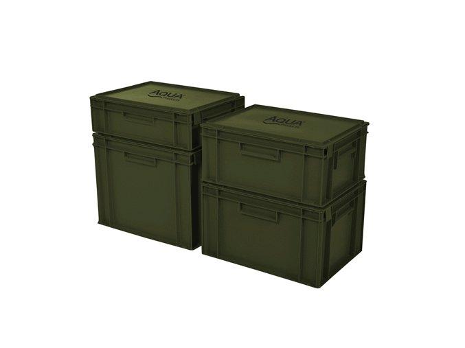 AQUA Staxx box - Uzavíratelný stohovatelný box