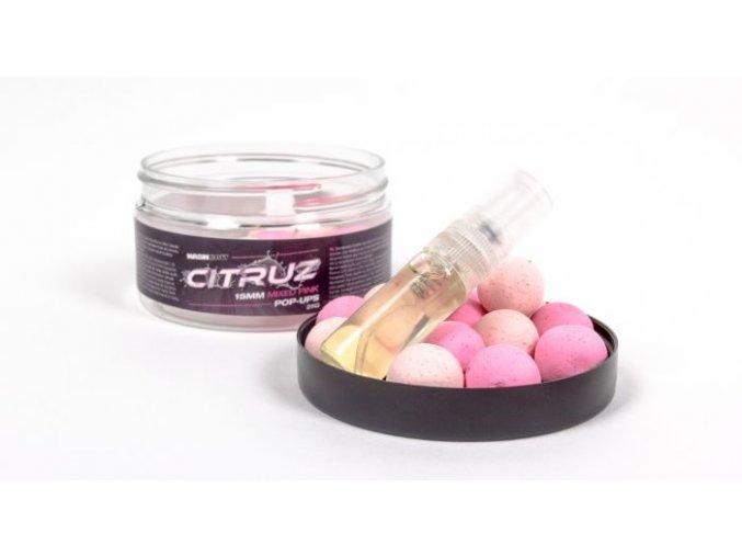 Nash plovoucí boilies Citruz Pop Ups Pink Special Edition