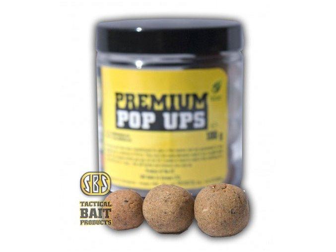 SBS Baits plovoucí boilies Premium Pop Ups Ace Lobworm