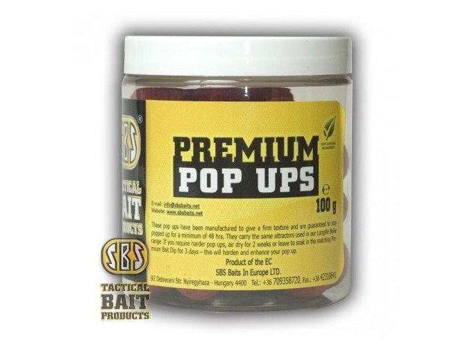 SBS Baits plovoucí boilies Premium Pop Ups All Season Corn