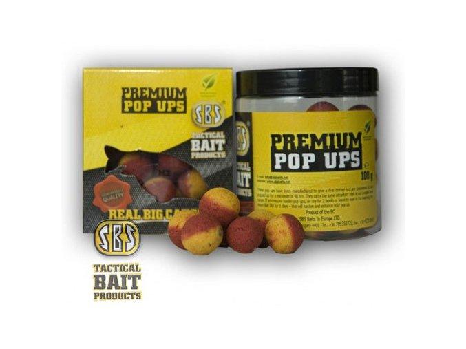 SBS Baits plovoucí boilies Premium Pop Ups M3