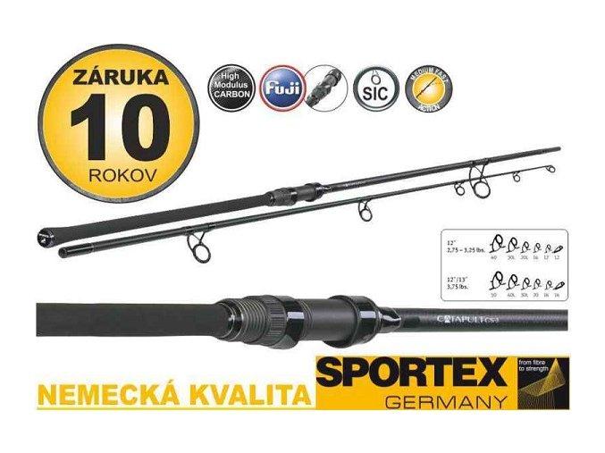 SPORTEX Kaprové pruty Catapult CS-3 Carp 12Ft/3lb
