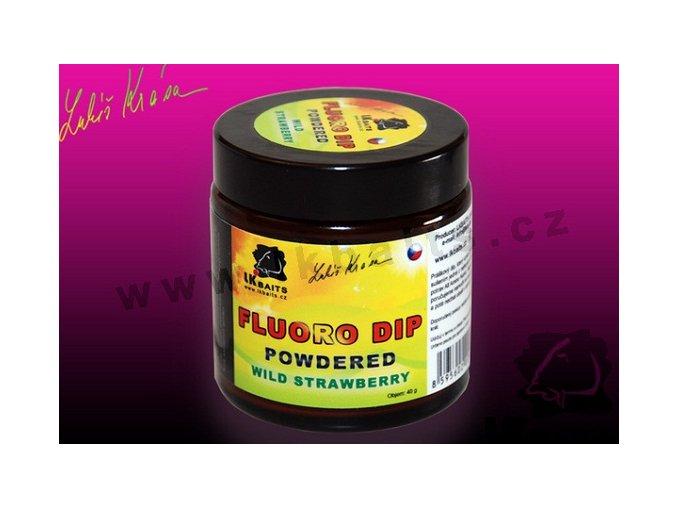 LK Baits práškový dip ReStart Mussel powdered FLUORO 100ml