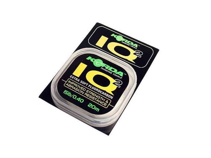 Korda návazcový fluorocarbon IQ hooklink 25lb