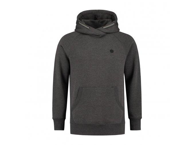 korda mikina le tk hoodie charcoal 1