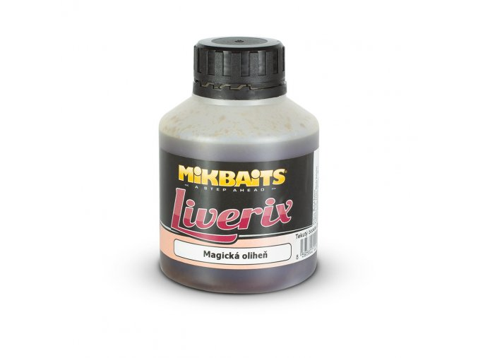 Mikbaits Liverix booster 250ml - Magická oliheň