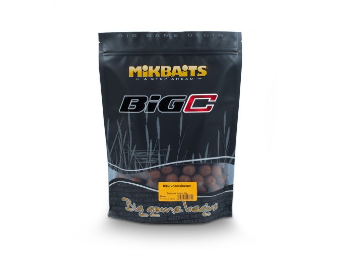 Mikbaits BiG boilie 1kg - BigC Cheeseburger 20mm