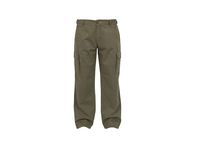 Fox kalhoty Chunk Cargo Pants Twill Khaki