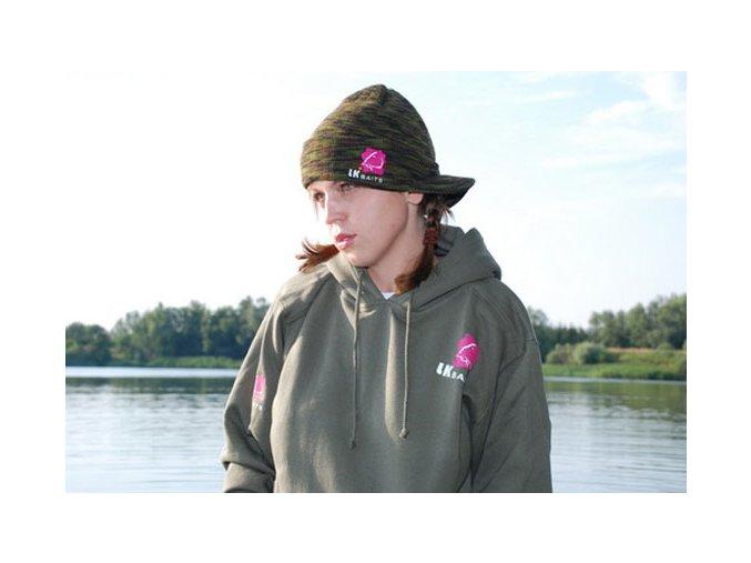 LK Baits mikina s kapucí zelená M