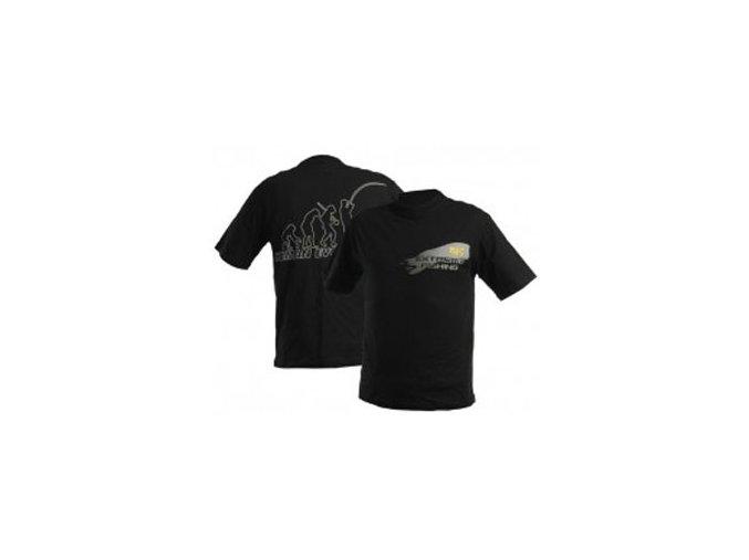 DOC Fishing tričko EVOLUTION - černé