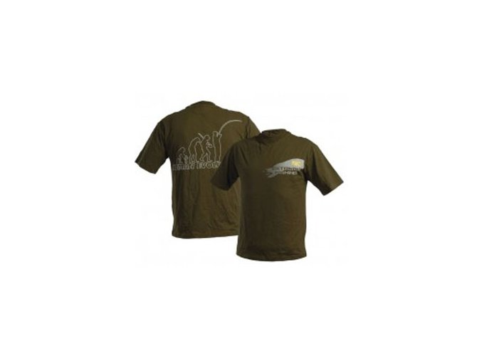 DOC Fishing tričko EVOLUTION - zelené