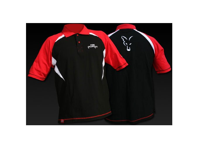 Fox Rage polokošile Cotton Polo Shirt vel. M