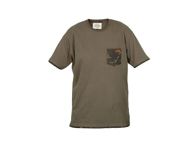 Fox tričko Chunk Camo Trim T-Shirt