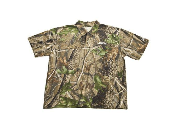 Trakker tričko s límečkem Jackal Polo Shirt