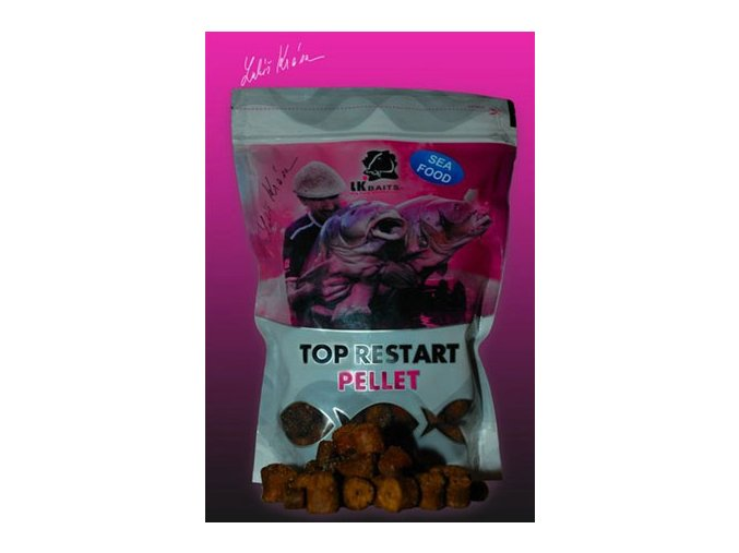 LK Baits pelety Top ReStart Sea Food