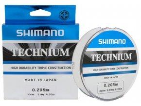 Shimano vlasec Technium PB 300 m 0,25 mm 6,1 kg šedý