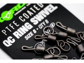 ptfe size 8 qc ring swivels 3
