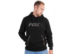 fox mikina black camo hoody