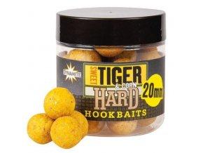 Dynamite Baits tvrzené boilie Hardened Hookbaits Sweet Tiger&Corn 20 mm