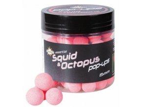 Dynamite Baits plovoucí boilies Pop-Up Fluro Squid&Octopus 15 mm