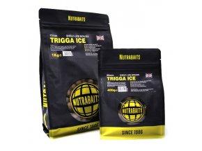 Nutrabaits trvanlivé boilie 400g - Trigga Ice 20mm