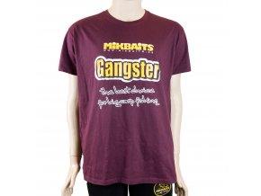 Mikbaits oblečení - Tričko Gangster burgundy L