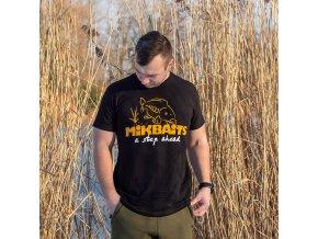 Mikbaits oblečení - Tričko Mikbaits černé 4XL