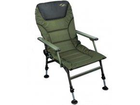 Carp Spirit křesílko Padded Level Chair with Arms