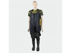 Mikbaits brodící kalhoty - Prsačky Mikbaits Junior Slim Fit Black 38