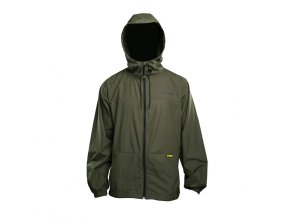 RidgeMonkey Bunda APEarel Dropback Lightweight Hydrophobic Jacket Green Velikost L