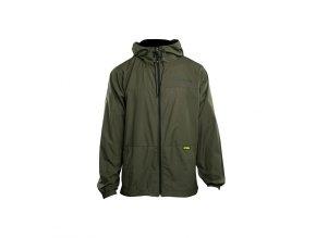 RidgeMonkey Bunda APEarel Dropback Lightweight Hydrophobic Jacket Green Velikost XXXL