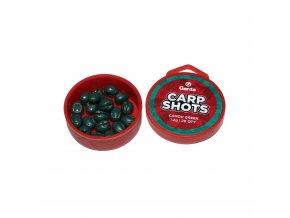Garda Carp Shots - Carp Shots camou green 1,2g 20ks