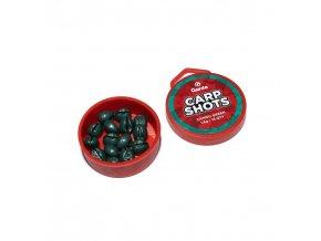 Garda Carp Shots - Carp Shots camou green 1,6g 15ks
