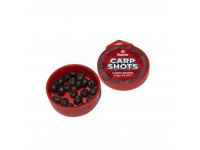 Garda Carp Shots - Carp Shots camou brown 0,9g 20ks