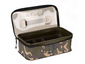 fox aquos camo rig box and tackle bag