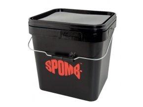 spomb kbelik square bucket 17 l