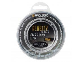 prologic sokovy vlasec density snag shock leader clear 100 m